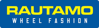 Rautamo wheel fashion logotype